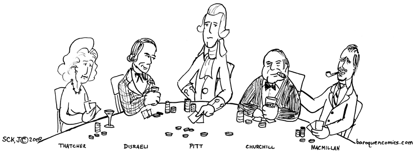 Prime Ministers Playing Poker   Tories